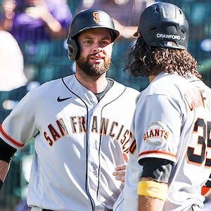 Brandon Belt Brandon Crawford San Francisco Giants MLB