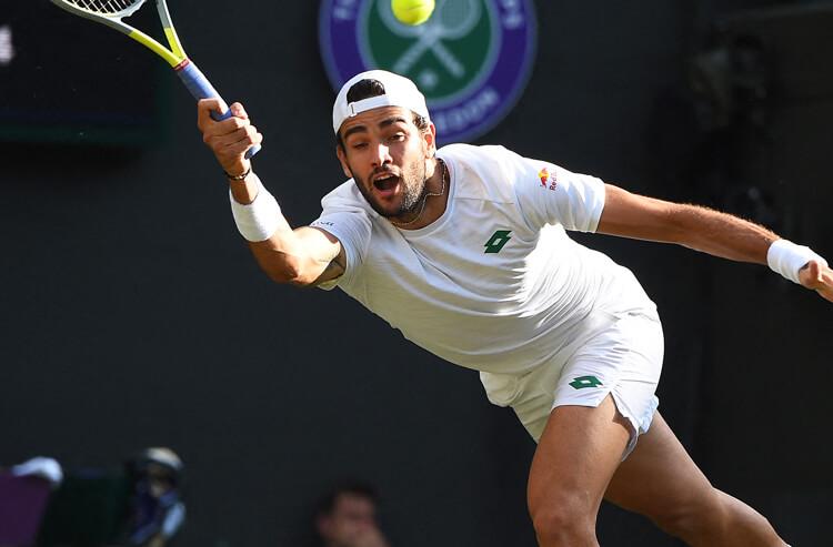 Matteo Berrettini Wimbledon men's semifinal