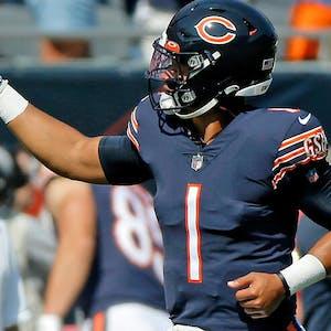 Justin Fields Chicago Bears NFL