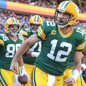 Aaron Rodgers Green Bay Packers NFL