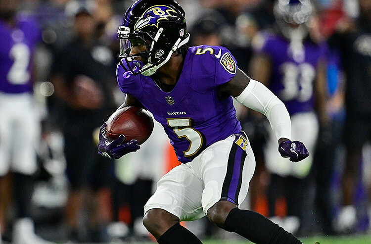 Marquise Brown Baltimore Ravens NFL