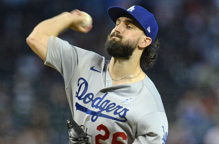 Tony Gonsolin MLB Los Angeles Dodgers