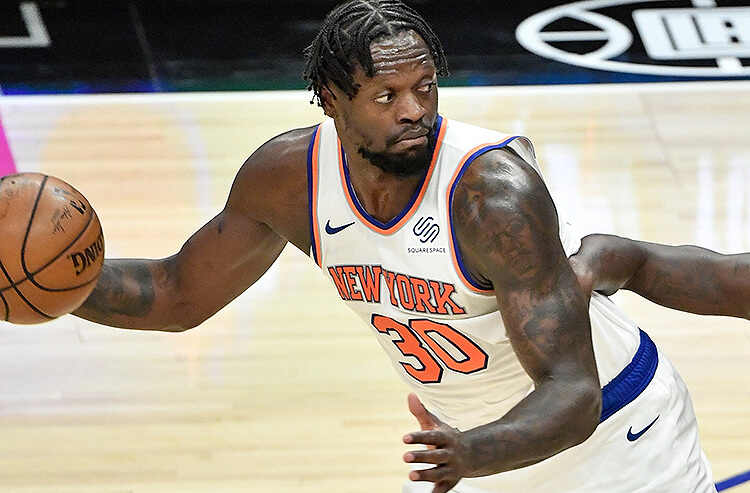 Julius Randle New York Knicks NBA