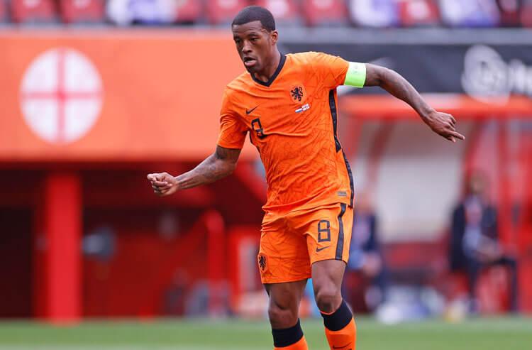 Georginio Wijnaldum Netherlands national team soccer Euros