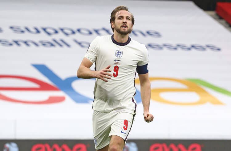 Harry Kane England national team soccer Euros