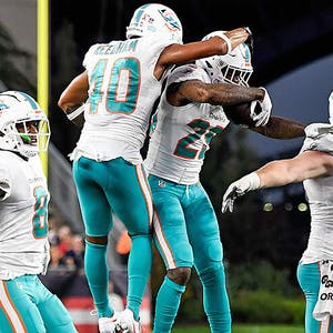 Nik Needham Xavien Howard Miami Dolphins NFL