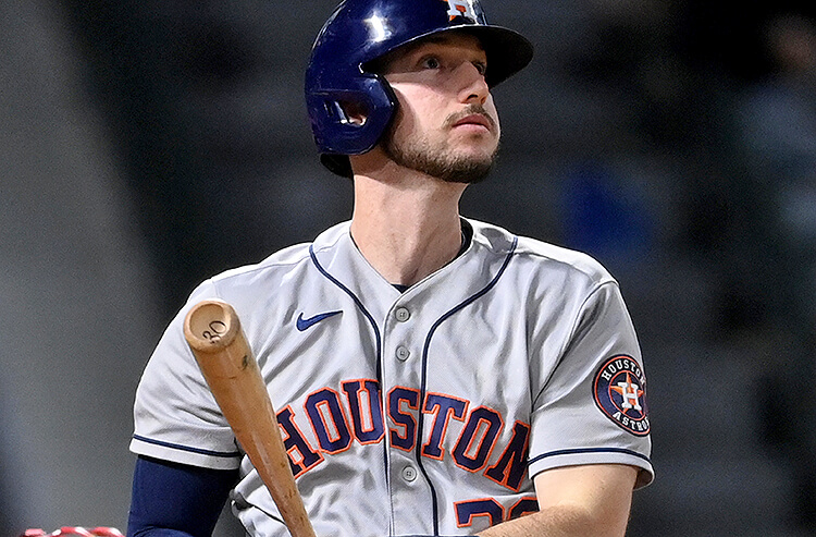 Today's MLB Prop Bets, Picks and Predictions: Red-Hot Astros Slugger Feasts On Halos Rookie