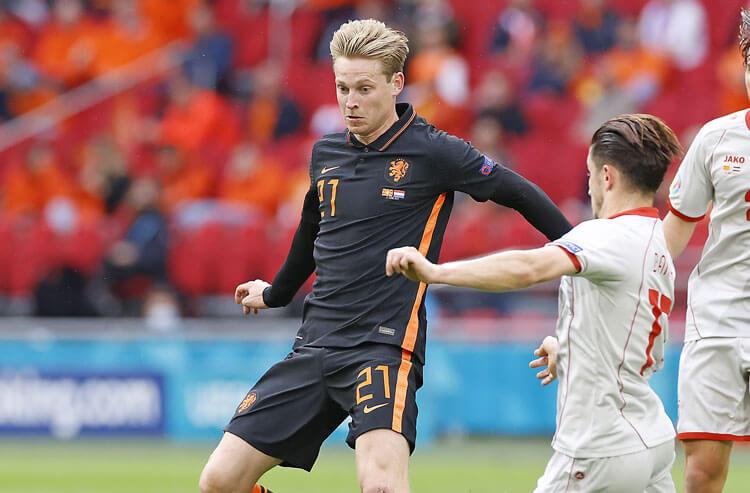 Frenkie de Jong Netherlands national soccer team Euros