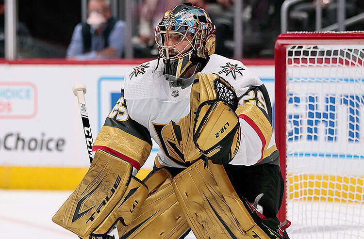 Marc-Andre Fleury Vegas Golden Knights NHL