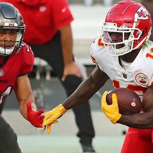 Tyreek Hill Kansas City Chiefs NFL Super Bowl LV