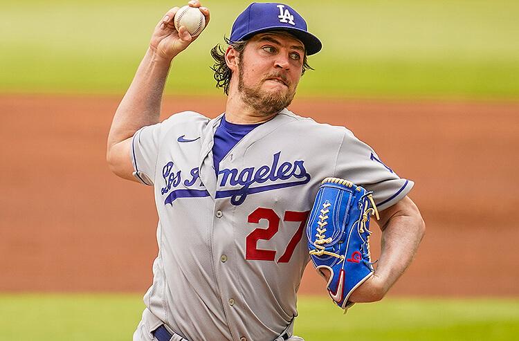 Trevor Bauer Los Angeles Dodgers MLB