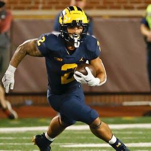 Blake Corum Michigan Wolverines college football