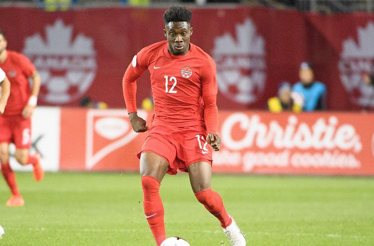 Alphonso Davies Canada national soccer team
