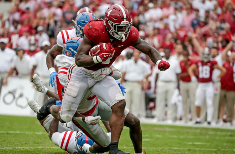 Brian Robinson Jr. Alabama Crimson Tide college football
