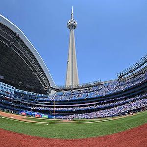 CN Tower Rogers Centre Toronto Blue Jays MLB