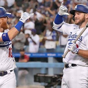 Justin Turner Max Muncy Los Angeles Dodgers MLB