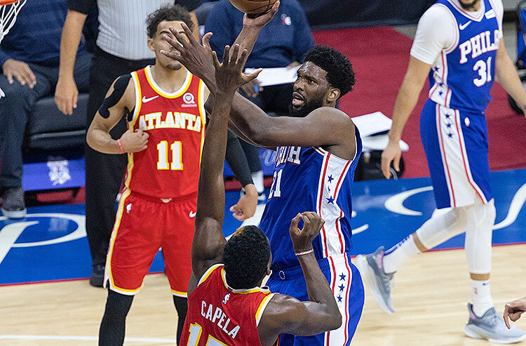 Hawks vs 76ers Game 7 Picks and Predictions: Embiid, Curry Ball Out