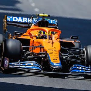 Lando Norris McLaren Formula 1