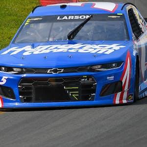 Kyle Larson Bank of America ROVAL 400 NASCAR