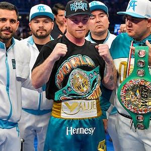Boxer Canelo Alvarez