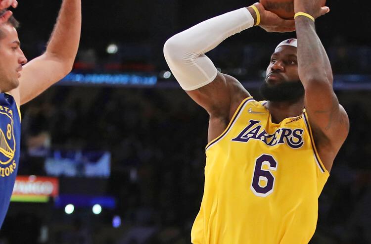 Today's NBA Player Prop Picks: James Keeps Raining