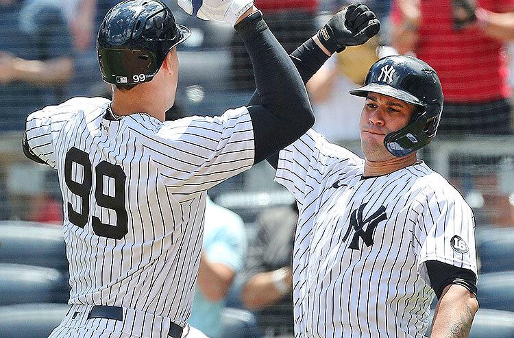 Aaron Judge Gary Sanchez New York Yankees MLB