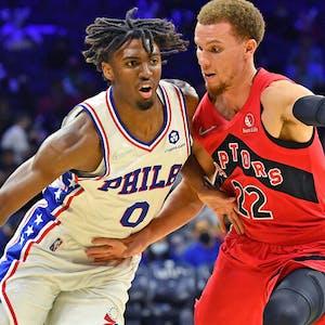 Tyrese Maxey Philadelphia 76ers NBA