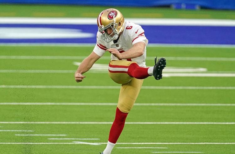 Mitch Wishnowsky San Francisco 49ers NFL