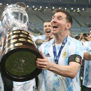 Lionel Messi Argentina national soccer team