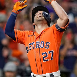 Jose Altuve Houston Astros MLB World Series