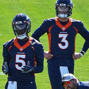 Teddy Bridgewater Drew Lock Denver Broncos NFL