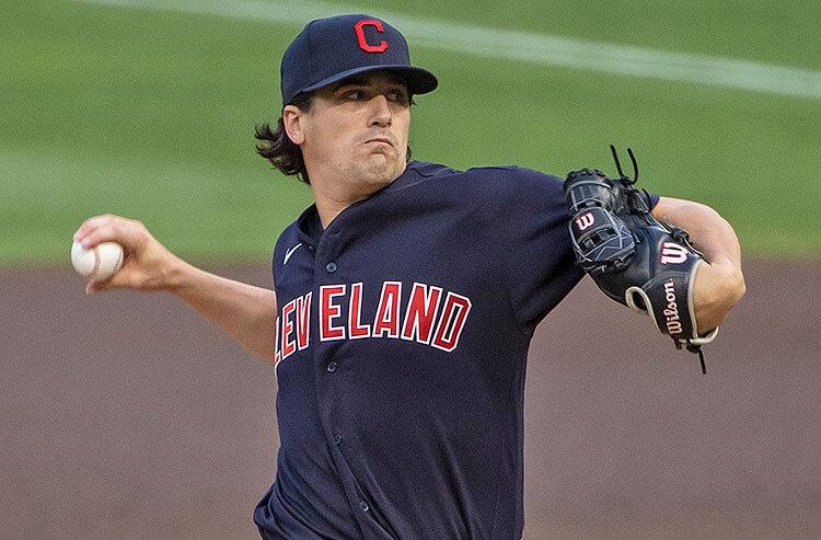 Cal Quantrill Cleveland Indians MLB