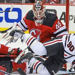 Jonathan Bernier New Jersey Devils NHL