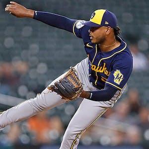 Freddy Peralta Milwaukee Brewers MLB