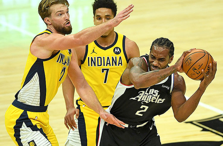 Domantas Sabonis Indiana Pacers Kawhi Leonard Los Angeles Clippers NBA