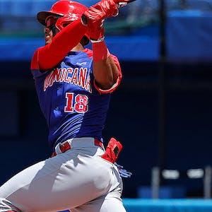 Julio Rodriguez Dominican Republic Olympic Baseball