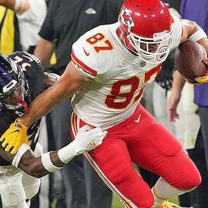 Travis Kelce Kansas City Chiefs NFL