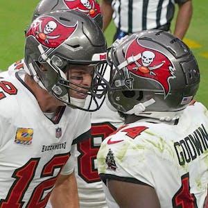 Chris Godwin Tom Brady Tampa Bay Buccaneers NFL