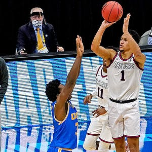 Jalen Suggs Gonzaga Bulldogs NCAA Tournament