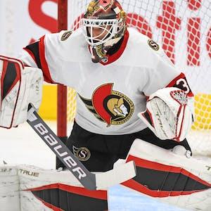 Anton Forsberg Ottawa Senators NHL