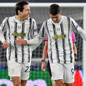 Federico Chiesa Alvaro Morata Juventus Serie A