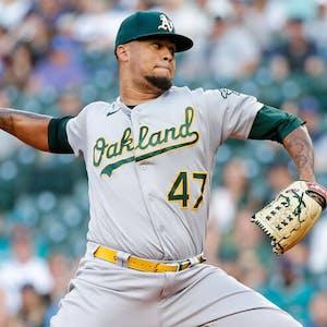 Frankie Montas Oakland Athletics MLB