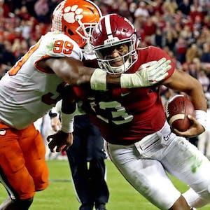 Clemson Tigers Alabama Crimson Tide college football