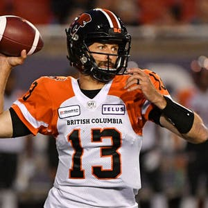 Michael Reilly BC Lions CFL