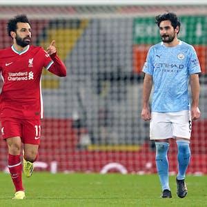 Mohamed Salah Ilkay Gundogan EPL title odds