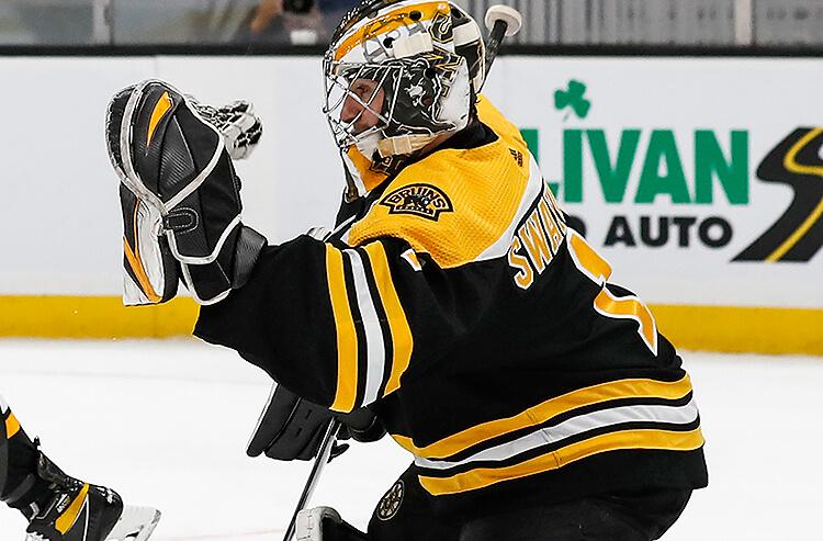 Jeremy Swayman Boston Bruins NHL