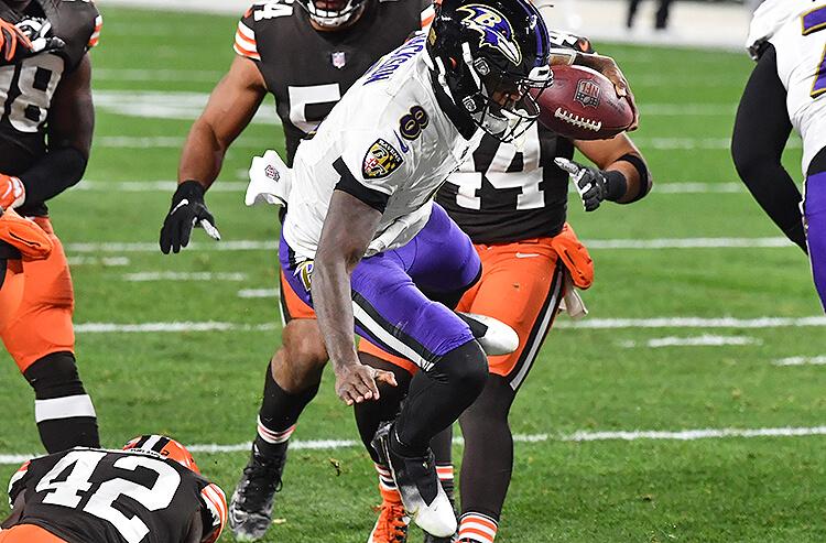 Lamar Jackson Baltimore Ravens NFL