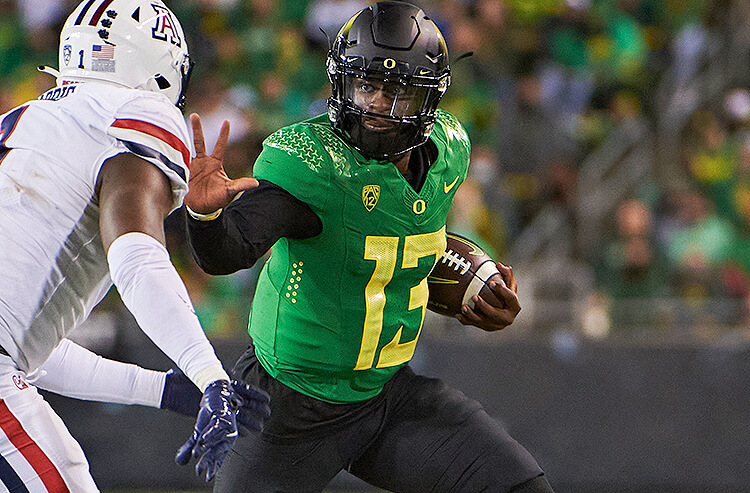 2022 College Football National Championship Odds: Oregon Ducks Now A Top-5 Betting Favorite
