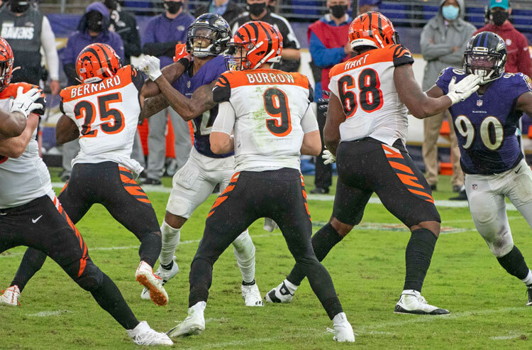 NFL Week 7 Odds: Bengals 6.5-Point Underdogs Headed to Baltimore