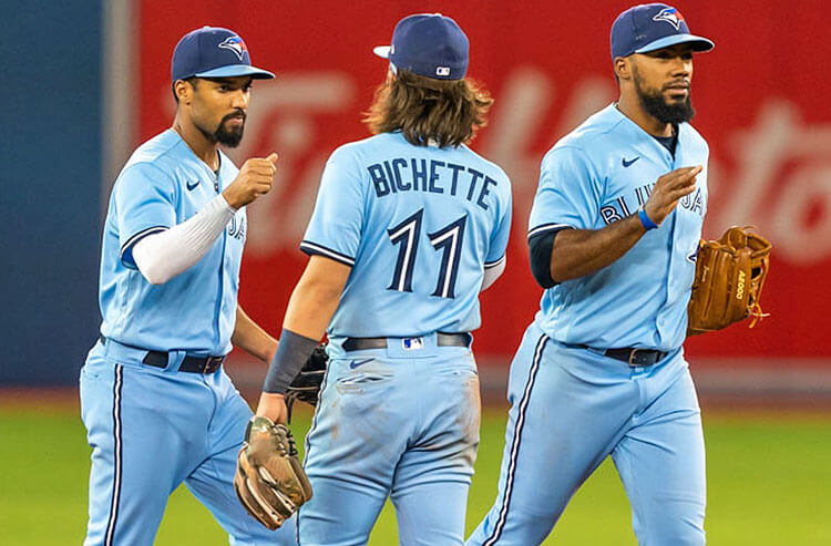 Marcus Semien Bo Bichette Toronto Blue Jays MLB